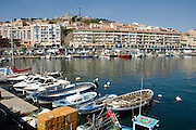 Frankrijk,Sete, 20-9-2008Zicht op deze vissersplaats en badplaats aan de Middellandse zee vanuit de haven.View of this fishing village and resort on the Mediterranean sea from the port.Foto: Flip Franssen/Hollandse Hoogte