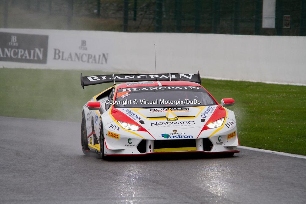 #32, Lamborghini Huracán, Bonaldi Motorsport, P.Kujala , Lamborghini BlancPain Super Trofeo 2015