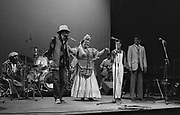 Miss Louise Bennett in concert with Linton Kwesi Johnson - London 1983