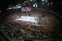 29.05.2016, Lanxess Arena, Köln, GBR, EHC CL, KS Vive Kielce vs MVM Veszprem, Finale, im Bild Stadionübersicht // during the EHF Championsleague final match between KS Vive Kielce vs MVM Veszprem at the Lanxess Arena in Köln, Germany on 2016/05/29. EXPA Pictures © 2016, PhotoCredit: EXPA/ Pressesports/ GARNIER ETIENNE<br /> <br /> *****ATTENTION - for AUT, SLO, CRO, SRB, BIH, MAZ, POL only*****