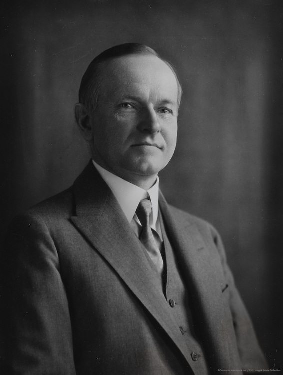 Calvin Coolidge, 30th President of the United States, c. 1921