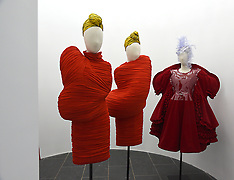 NY: Press Preview of Rei Kawakubo/Comme des Garcons exhibit 1 May 2017