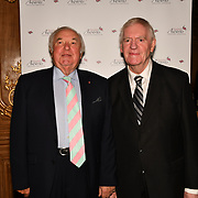 Jimmy Tarbuck and Lawrie McMenemy attend the 7th annual Churchill Awards honour achievements of the Over 65's at Claridge's Hotel on 10 March 2019, London, UK.