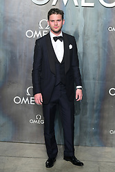 Jeremy Irvine attending the Lost in Space event to celebrate the 60th anniversary of the OMEGA Speedmaster held in the Turbine Hall, Tate Modern, 25 Sumner Street, Bankside, London.