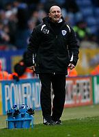 Photo: Steve Bond/Richard Lane Photography. <br />Leicester City v Scunthorpe United. Coca Cola Championship. 29/03/2008. Ian Holloway looks worried