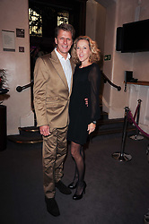 TV presenter ANDREW CASTLE and his wife SOPHIA at the Inspiration Awards For Women held at Cadogan Hall, Sloane Terrace, London on 6th October 2010.