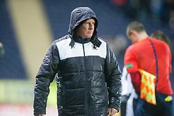 Falkirk's manager Peter Houston. <br /> Falkirk 4 v 1 Fraserburgh, Scottish Cup third round, played 28/11/2015 at The Falkirk Stadium.