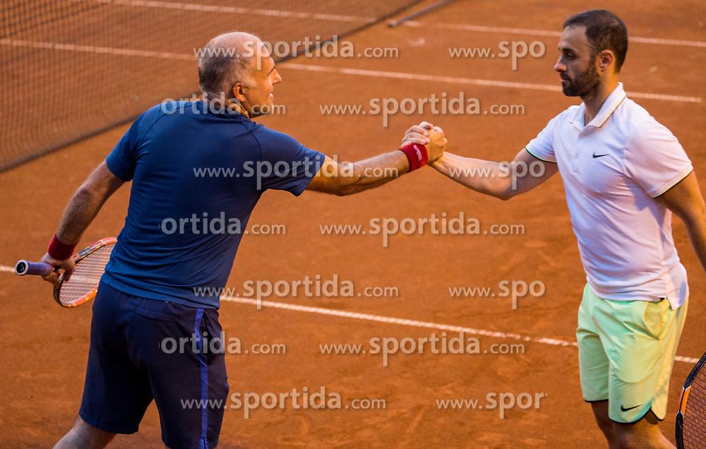 Goran Belic and Aljaz Kos at Petrol VIP tournament 2018, on May 24, 2018 in Sports park Tivoli, Ljubljana, Slovenia. Photo by Vid Ponikvar / Sportida