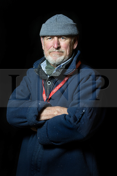 """© Licensed to London News Pictures. 04/05/2016. Birkenhead UK. Picture shows volunteer & former merchant navy sailor Dave Lowles who worked on the restoration of the Daniel Adamson at Canada Docks in Liverpool. The Daniel Adamson steam boat has been bought back to operational service after a £5M restoration. The coal fired steam tug is the last surviving steam powered tug built on the Mersey and is believed to be the oldest operational Mersey built ship in the world. The """"Danny"""" (originally named the Ralph Brocklebank) was built at Camel Laird ship yard in Birkenhead & launched in 1903. She worked the canal's & carried passengers across the Mersey & during WW1 had a stint working for the Royal Navy in Liverpool. The """"Danny"""" was refitted in the 30's in an art deco style. Withdrawn from service in 1984 by 2014 she was due for scrapping until Mersey tug skipper Dan Cross bought her for £1 and the campaign to save her was underway. Photo credit: Andrew McCaren/LNP ** More information available here http://tinyurl.com/jsucxaq **"""
