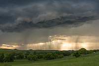 It was a very stormy week in Sheridan. This thunderstorm popped up just before 7PM and I followed it a few miles outside of town.