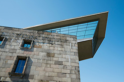 Modern architecture of Documentation Center of the National Socialist rally Grounds in Nuremberg in Bavaria Germany