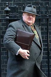 © Licensed to London News Pictures. 12/03/2013. Westminster, UK. Eric Pickles, Conservative MP, Secretary of State for Communities and Local Government. Ministers in Downing Street today 12 March 2013. Photo credit : Stephen Simpson/LNP