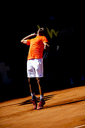 June 21, 2018 - L'Aquila, Italy - Benjamin Hassan during match between Benjamin Hassan (GER) and Gianluigi Quinzi (ITA) during day 6 at the Internazionali di Tennis Città dell'Aquila (ATP Challenger L'Aquila) in L'Aquila, Italy, on June 20, 2018. (Credit Image: © Manuel Romano/NurPhoto via ZUMA Press)