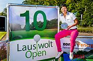 25-05-2019 Foto's van dag 2 van het Lauswolt Open 2019, gespeeld op Golf & Country Club Lauswolt in Beetsterzwaag, Friesland.<br /> Beste amateur en beste dame overall, Zhen Bontan