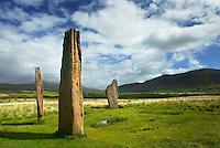 Machrie Moor Standing Stones Isle of Arran Scotland