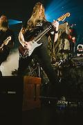 Photos of the Icelandic metal band Skálmöld performing  'Baldur' live at Borgarleikhúsid on April 23, 2014 in Reykjavík, Iceland. Copyright © 2014 Matthew Eisman. All Rights Reserved