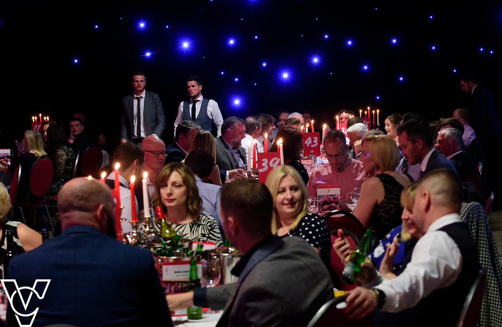 Lincoln City Football Club's 2018-19 End of Season Awards dinner, sponsored by the University of Lincoln, held at the Lincolnshire Showground.<br /> <br /> Picture: Andrew Vaughan/Chris Vaughan Photography for Lincoln City Football Club<br /> Date: May 5, 2019