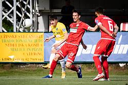 during football match between Aluminij and NK Bravo in 35th Round of Prva liga Telekom Slovenije 2020/21, on 18 of May, 2021 in Sportni park Kidricevo, Kidricevo, Slovenia. Photo by Blaž Weindorfer / Sportida