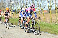 Pozzato Filippo -  Lampre Merida - 31.03.2015 - Trois jours de La Panne - Etape 01 - De Panne / Zottegem <br /> Photo : Sirotti / Icon Sport<br /> <br />   *** Local Caption ***