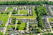 Nederland, Flevoland, Nagele, 07-05-2018; Dorp Nagele in de Noordoostpolder, bijna geheel ontworpen door moderne architecten van architecten van De Acht en Opbouw. <br /> Village Nagele in the Northeast polder, almost entirely designed by modern architects in the 50s. <br /> luchtfoto (toeslag op standard tarieven);<br /> aerial photo (additional fee required);<br /> copyright foto/photo Siebe Swart