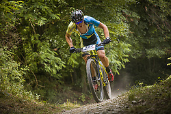 Smrdel Miha of MKB Crni vrh during the race of XCO National Championship of Slovenia 2021 on 27.06.2021 in Kamnik, Slovenia. Photo by Urban Meglič / Sportida