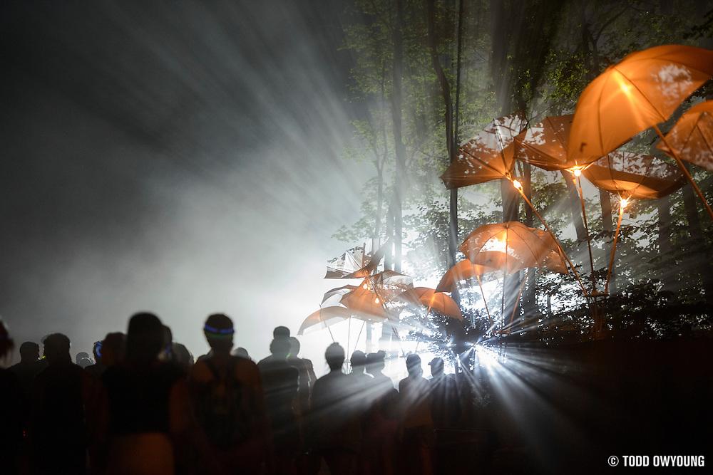 Atmosphere from the Firefly Music Festival in Dover, DE on June 20, 2014.