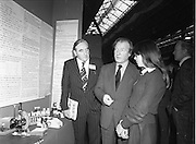 06/01/1978.01/06/1978.6th January 1978.The Aer Lingus Young Scientist of the Year Exhibition at the RDS, Dublin. ..John Wilson(left) T.D., Minister for Education and Charles Haughey, T.D., Minister for Health and Social Welfare being shown an exhibit by a student (unknown).