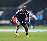 West Brom's Saido Berahino warms up<br /> <br /> Barclays Premier League- West Bromwich Albion vs Arsenal - The Hawthorns - England - 29th November 2014 - Picture David Klein/Sportimage