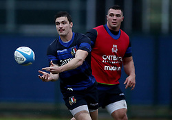 November 20, 2018 - Rome, Italy - Rugby Italy training - Cattolica Test Match.Carlo Canna at Giulio Onesti Sport Center in Rome, Italy on November 20, 2018. (Credit Image: © Matteo Ciambelli/NurPhoto via ZUMA Press)