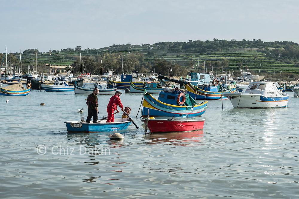 Fishermen, Marsaxlokk village