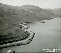 1924 Lake Hollywood under construction