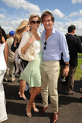 TIM & MALIN JEFFERIES at the IWC Laureus Polo Cup Day 2008 held at Ham Polo Club, Surrey on 22nd June 2008.<br /><br />NON EXCLUSIVE - WORLD RIGHTS