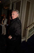 Roger Taylor. 50th Ivor Novello Awards, Grosvenor House. London. 26 may 2005. ONE TIME USE ONLY - DO NOT ARCHIVE  © Copyright Photograph by Dafydd Jones 66 Stockwell Park Rd. London SW9 0DA Tel 020 7733 0108 www.dafjones.com
