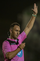 November 3, 2018 - Galway, Ireland - Referee Quinton Immelman in action during the Guinness PRO14 match between Connacht Rugby and Dragons at the Sportsground in Galway, Ireland on November 3, 2018  (Credit Image: © Andrew Surma/NurPhoto via ZUMA Press)
