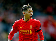 Roberto Firmino of Liverpool during the English Premier League match at Anfield Stadium, Liverpool. Picture date: April 1st 2017. Pic credit should read: Simon Bellis/Sportimage