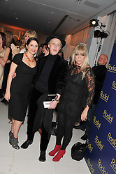 Left to right, SADIE FROST, JAMES BROWN and JO WOOD at the Rodial Beautiful Awards 2013 held at St Martin's Lane Hotel, St.Martin's Lane, London on 19th March 2013.