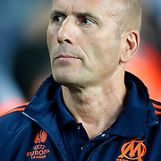 Marseille's head coach Elie Baup during their UEFA Europa League Group Stage Group C soccer match Fenerbahce between Marseille at Sukru Saracaoglu stadium in Istanbul Turkey on Thursday 20 September 2012. Photo by TURKPIX