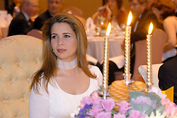 File photo - Princess Haya of Jordan attends a gala dinner, as she has just been elected president of the International Equestrian Federation (FEI) in Kuala Lumpur, Malaysia, on May 1st, 2006. The younger wife of the ruler of Dubai, the billionaire race horse owner Sheikh Mohammed bin Rashid al-Maktoum, is believed to be staying in a town house near Kensington Palace after fleeing her marriage. Princess Haya bint al-Hussein, 45, has not been seen in public for weeks. One half of one of the sporting world's most celebrated couples, she failed to appear at Royal Ascot last month with her husband. Photo by Ammar Abd Rabbo/ABACAPRESS.COM