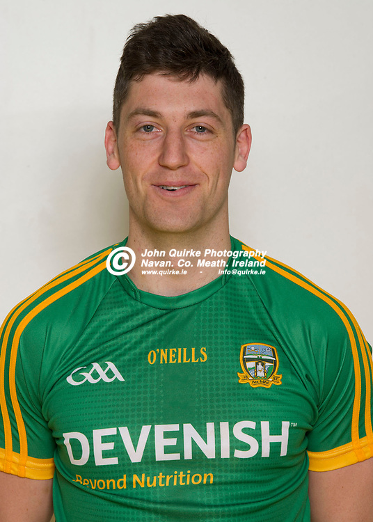 28-04-18. Meath Senior Football Player Portraits.<br /> Paddy Kennelly.<br /> Photo: John Quirke / www.quirke.ie<br /> ©John Quirke Photography, Unit 17, Blackcastle Shopping Cte. Navan. Co. Meath. 046-9079044 / 087-2579454.