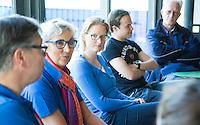 AMSTELVEEN -Arbitrage bij DOD C jeugd, met Yolande Brada en Fanneke Alkemade. COPYRIGHT KOEN SUYK