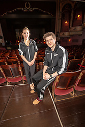 Constance Devernay and Andrew Peasgood, Scottish Ballet's principal dancers at the Festival Theatre, Edinburgh.