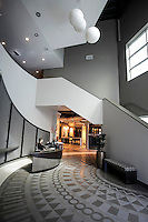 The lobby of Walker Zangerís new 130,000-square-foot corporate headquarters, distribution center and showroom in North Hills.. The showroom is 4,900 square feet and was designed by SRK Architects in Los Angeles, CA.  Feb. 23,  2016.   Photo by David Sprague