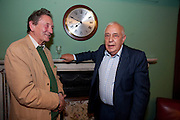 MICHAEL HOLROYD; LORD ROBERT SKIDELSKY, Drinks to celebrate the 60th anniversary of the Times Cheltenham Literature festival. Hosted by James Harding editor of the Times and the Directors of the Cheltenham Festival. The London Library. St. James's Sq. 23 September 2009.