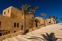Old Jaffa, Tel Aviv, Israel.
