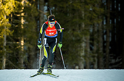 George Buta (ROU) during Men 12,5 km Pursuit at day 3 of IBU Biathlon World Cup 2015/16 Pokljuka, on December 19, 2015 in Rudno polje, Pokljuka, Slovenia. Photo by Vid Ponikvar / Sportida