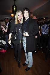 DENISE VAN OUTEN and LEE MEAD at a party to celebrate the opening of Barts, Sloane Ave, London on 26th February 2009.