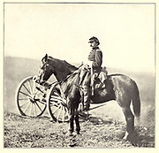 Lieut.-Colonel Albert V. Colburn from the book ' The Civil war through the camera ' hundreds of vivid photographs actually taken in Civil war times, sixteen reproductions in color of famous war paintings. The new text history by Henry W. Elson. A. complete illustrated history of the Civil war