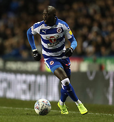 Reading's Modou Barrow in action