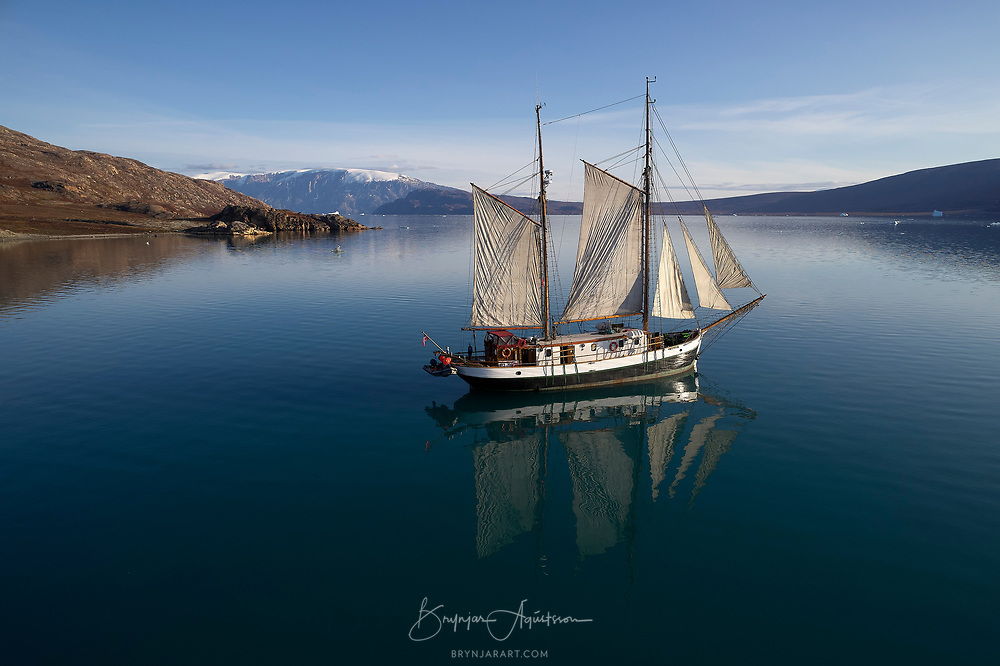 From a week photo tour in Greenland. Photo by: Brynjar Ágústsson Photography - (www.panorama.is)
