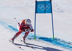 February 17, 2018 - PyeongChang, South Korea - MICHELLE GISIN of Switzerland during Alpine Skiing: Ladies Super-G at Jeongseon Alpine Centre at the 2018 Pyeongchang Winter Olympic Games. (Credit Image: © Patrice Lapointe via ZUMA Wire)